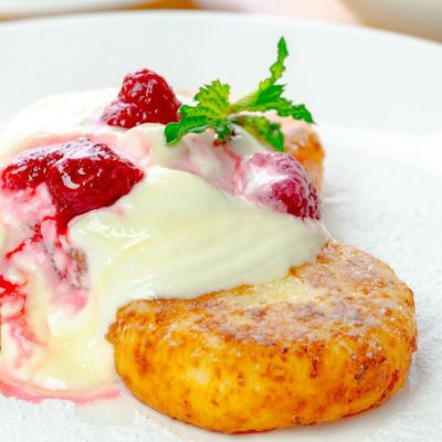 fried cheese cake